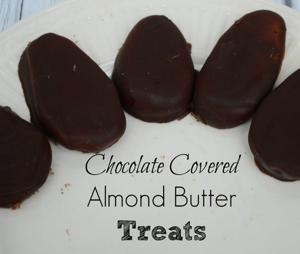 Chocolate Covered Almond Butter Treats