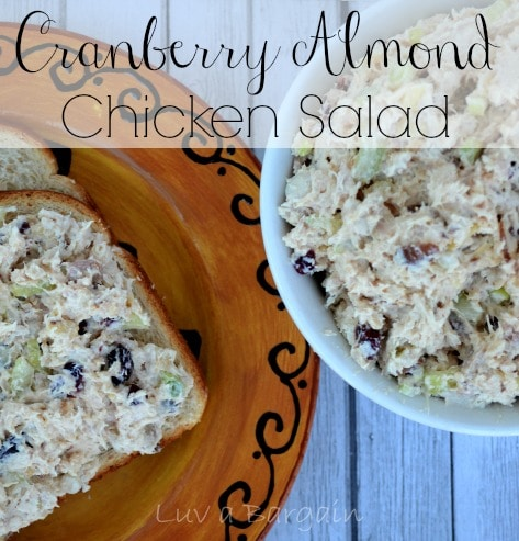 Cranberry Almond Chicken Salad1