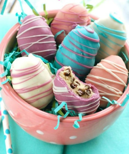 Easter Egg Cookie Dough