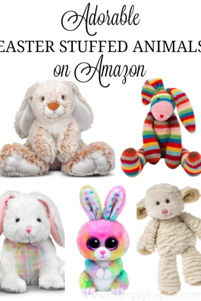 Easter Stuffed Animals on Amazon