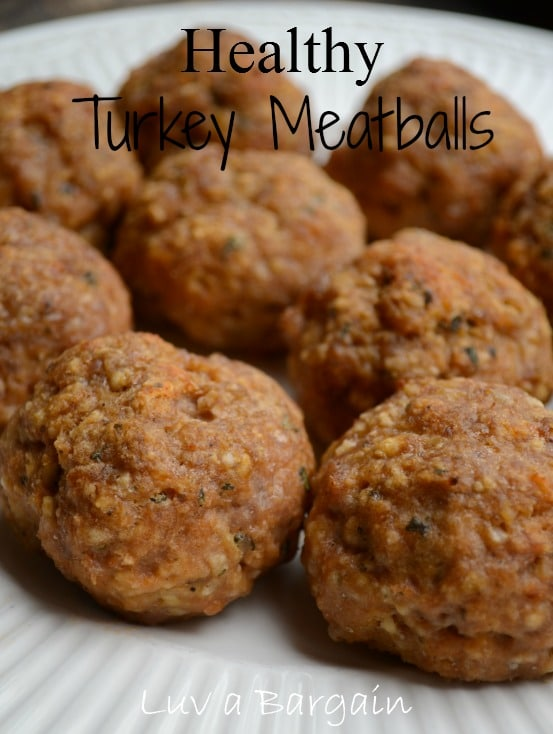 Healthy Turkey Meatballs Recipe
