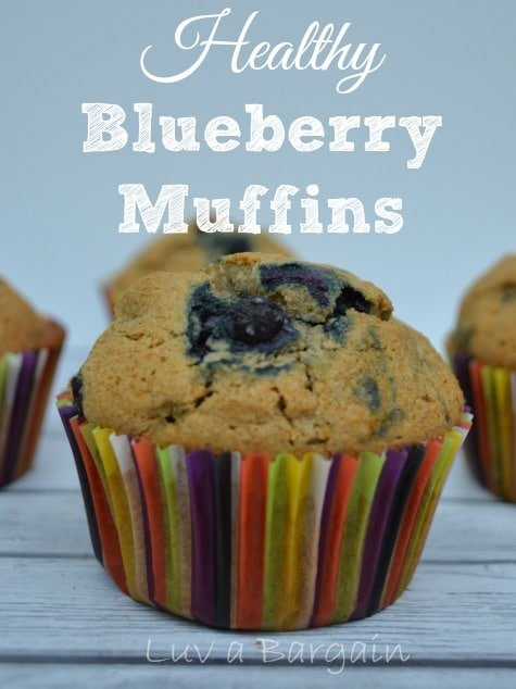 Healthy Blueberry Muffins1