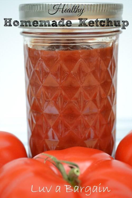 Healthy Homemade Ketchup1