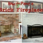 Thumbnail image for How to Paint a Brick Fireplace