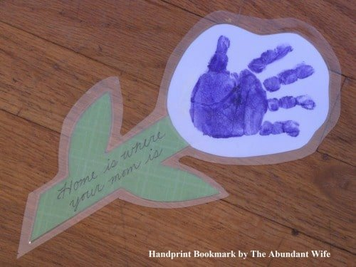 framable handprint