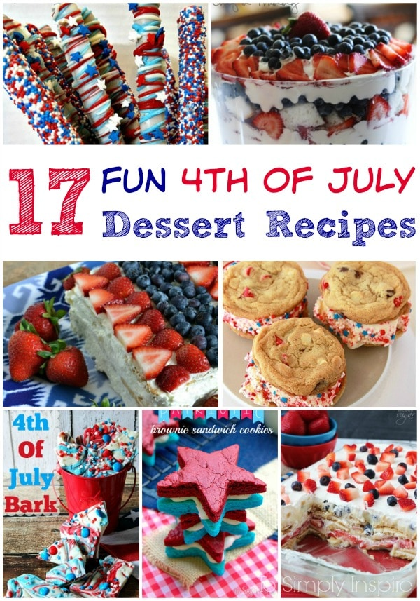 4th of july dessert recipes for Fourth of july party dessert ideas