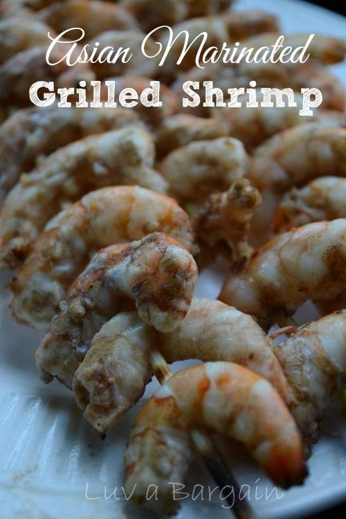 Aisan Marinated Grilled Shrimp