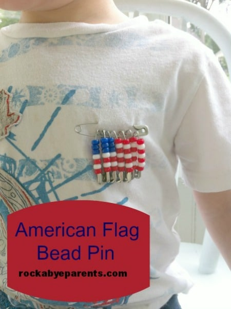 American-Flag-Bead-Pin