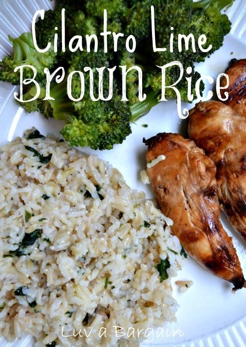 Cilantro Lime Brown Rice1