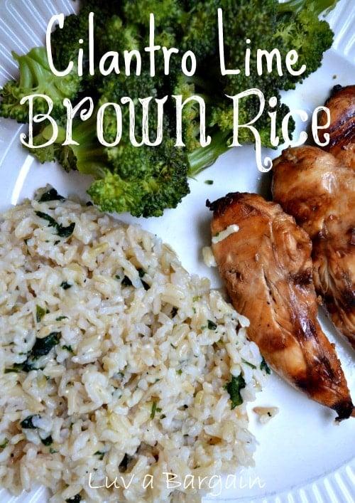 Cilantro Lime Brown Rice1