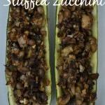 Thumbnail image for Mushroom Stuffed Zucchini