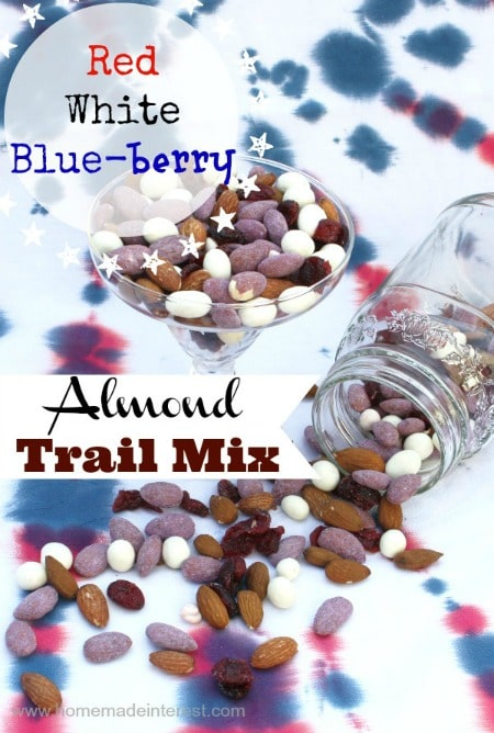 red white blue trail mix