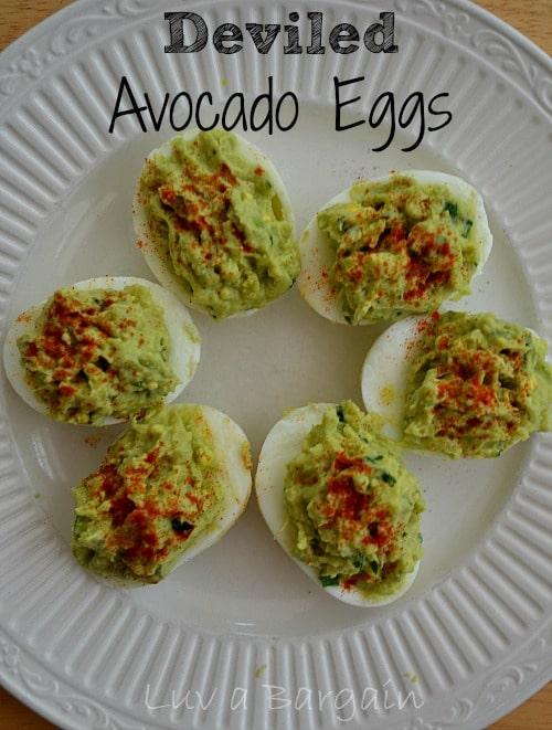 Deviled Avocado Eggs1
