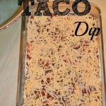 Thumbnail image for Layered Taco Dip Recipe
