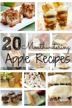 20 Mouthwatering Apple Recipes