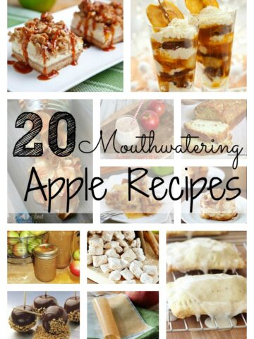 A bunch of different types of Apple recipes