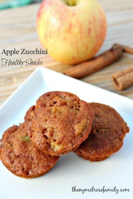 Apple-Zucchini-Healthy-Snacks