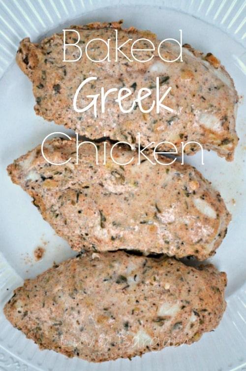 Baked Greek Chicken1