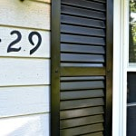 Thumbnail image for Spray Painting Shutters for a Thrifty Exterior Transformation