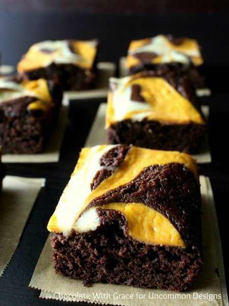 Pumpkin-Swirl-Brownies