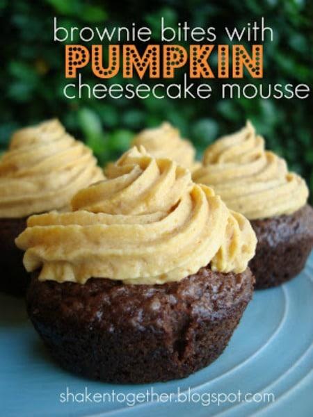 PumpkinBrownies