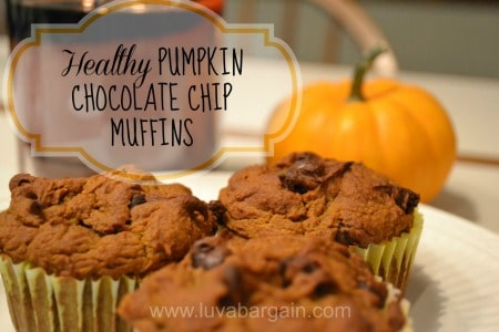 healthy-pumpkin-chocolate-chip-muffins