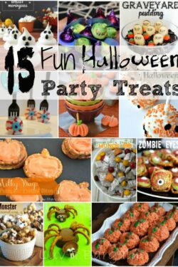 15 Fun Halloween Treats