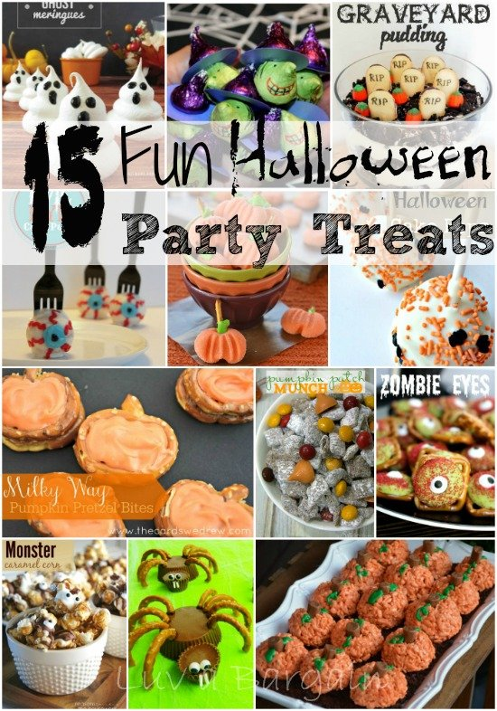 Halloween Party Dinner Ideas Part - 27: 15 Fun Halloween Party Treats -Are You Planning A Halloween Party For Your  Friends Or