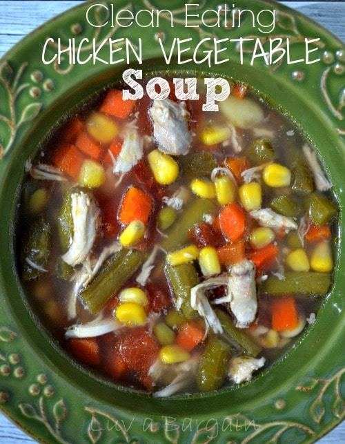 Clean Eating Chicken Vegetable Soup1
