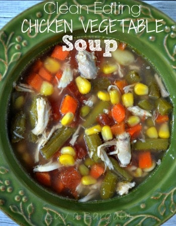 Chicken Vegetable Soup - A Hearty, Healthy Meal