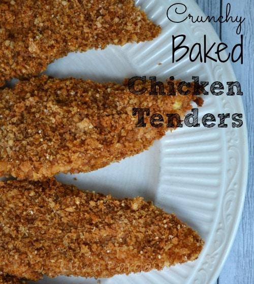 Crunchy Baked Chicken Tenders1