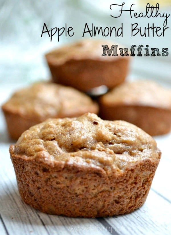 These healthy Apple Almond Butter Muffins are another great breakfast and snack option for you. Combine with yogurt or fresh fruit for a clean eating meal.