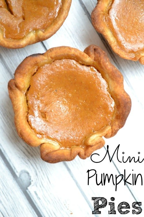 Miss Sophie's creation this week is Mini Pumpkin Pies! She has been ...