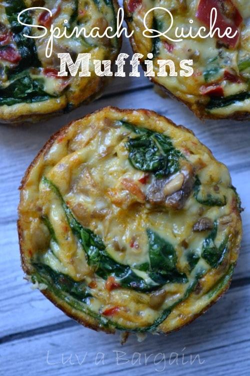 Spinach Quiche Muffins1