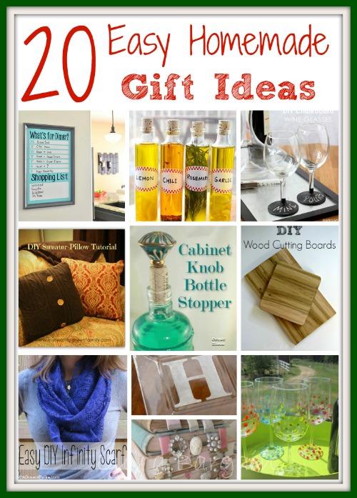 Easy homemade gift ideas homemade gift ideas negle Gallery