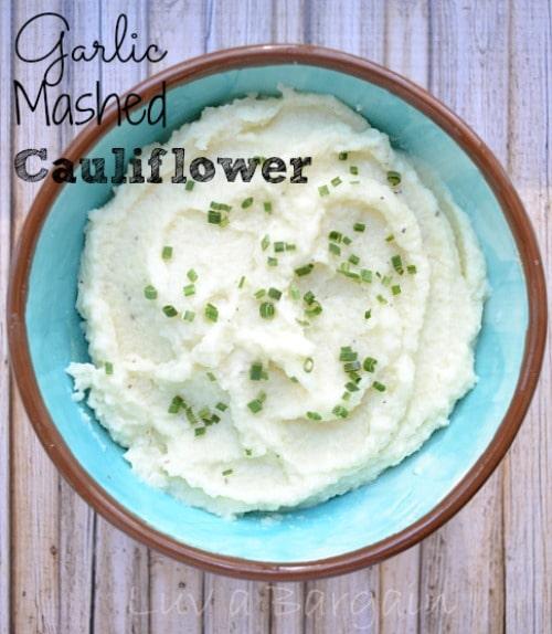 Garlic Mashed Cauliflower1
