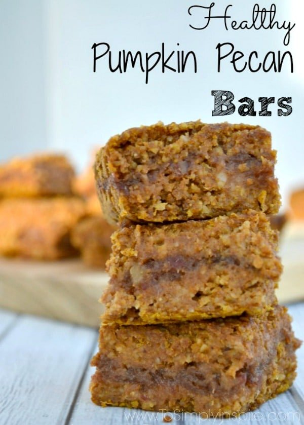These Pumpkin Pecan Bars are so yummy gooey and perfect with a cup of coffee in the morning or a cup of tea in the afternoon.
