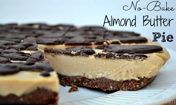 No-Bake Almond Butter Pie