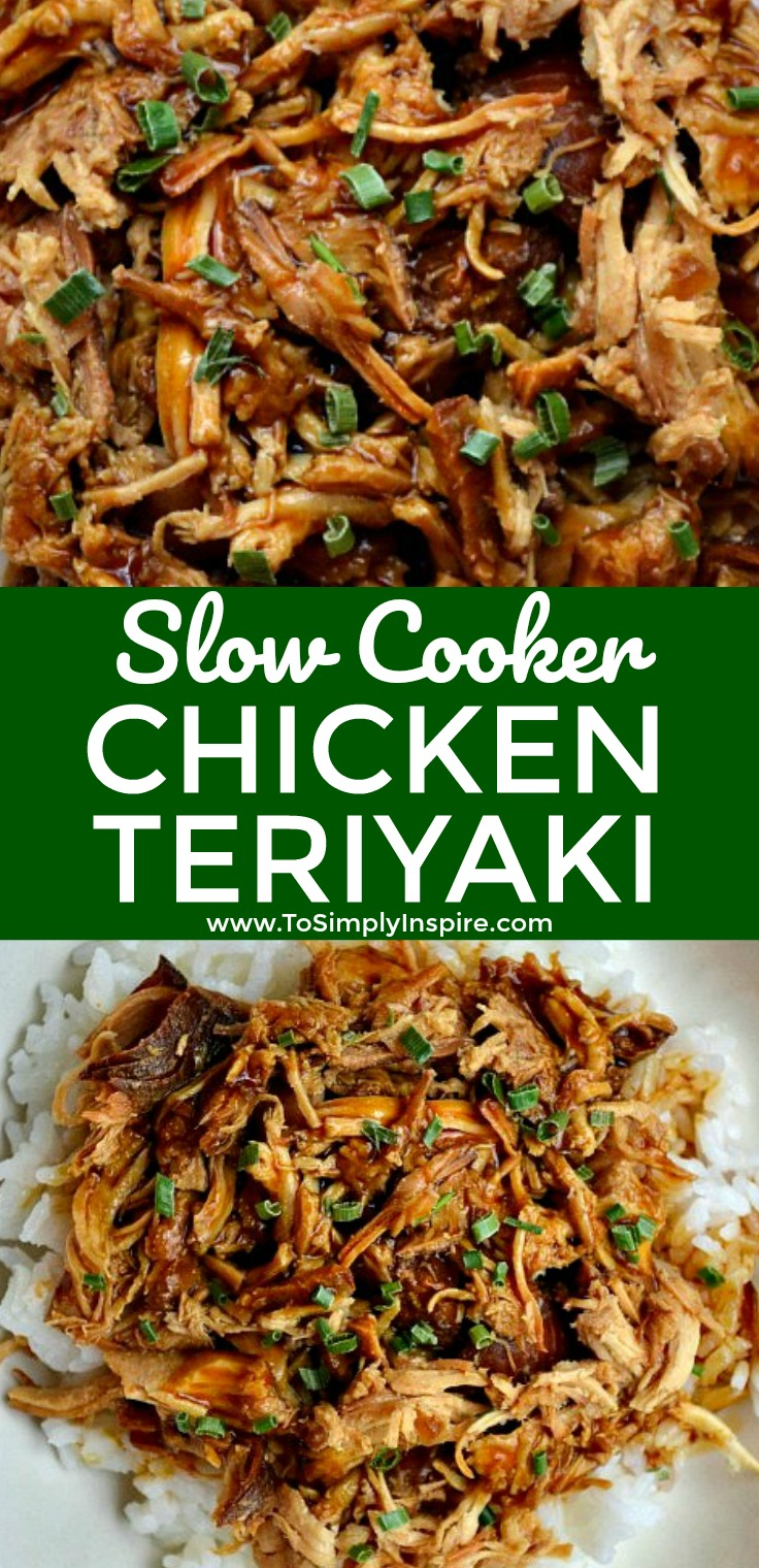 Nothing is better than a great homemade Slow Cooker Chicken Teriyaki. Serve over rice for another wonderful, healthy dinner choice.