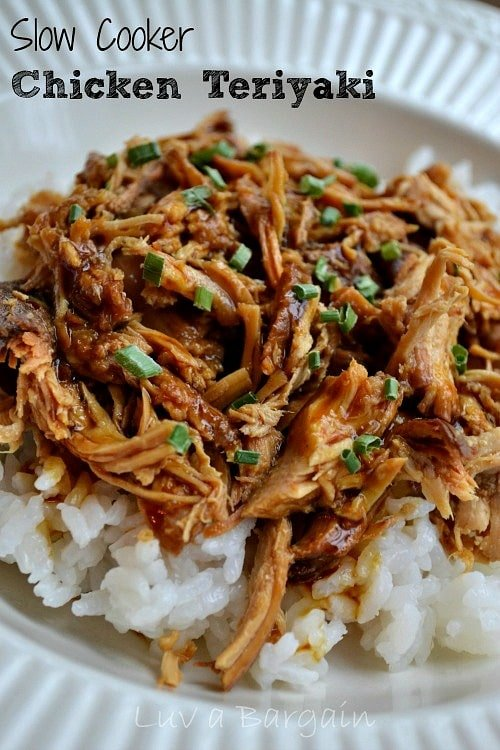 Slow Cooker Chicken Teriyaki2