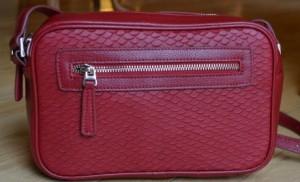susu red handbag