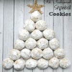 Old Fashioned Snowball Cookies