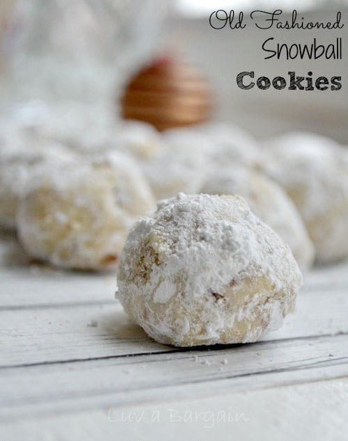 making these old fashioned snowball cookies is truly one of my fondest memories of my childhood christmas traditions i made these cookies with my mother
