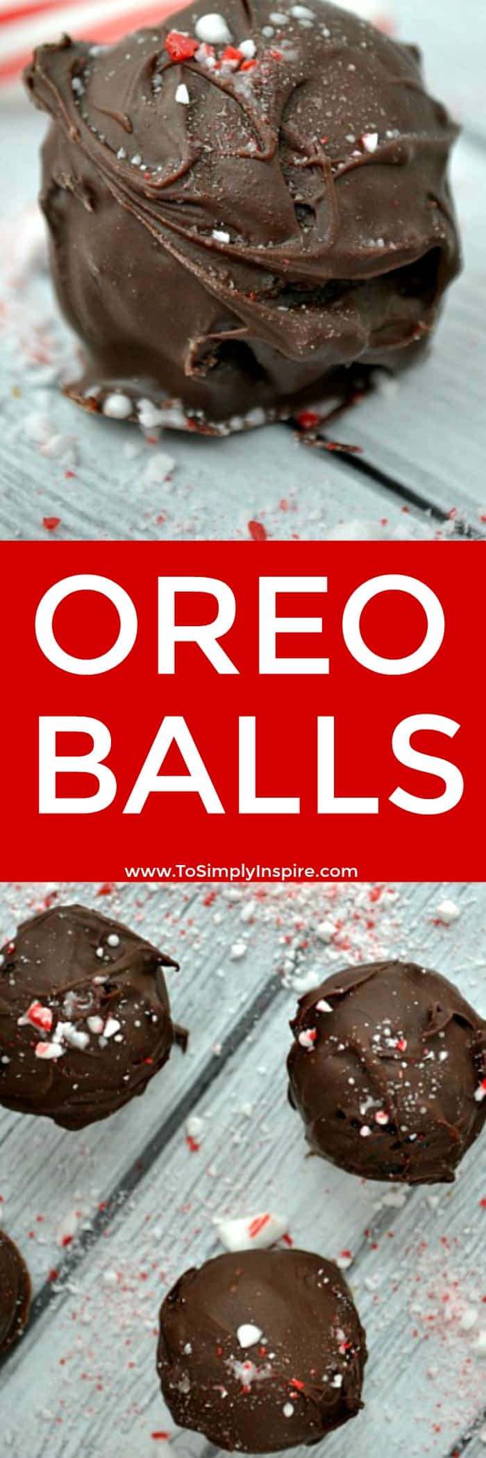 This Oreo Balls Recipe is simple but scrumptious. 3 ingredients is all you need. Take them to any party and they will be a favorite for sure.