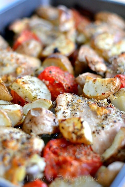 Baked Chicken and Vegatables2