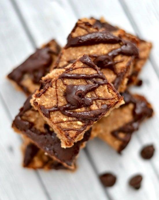 Healthy Banana Oat Chocolate Chip Breakfast Bars1