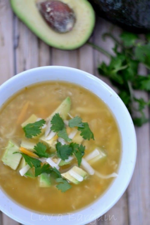 Simple White Chicken Chili Recipe  Made with just 5 ingredients and ready in as little as 20 minutes. The flavors will leave you drooling.