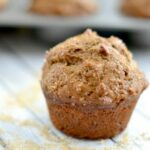 Healthy Gingerbread Muffins3