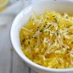 Parmesan Garlic Spaghetti Squash
