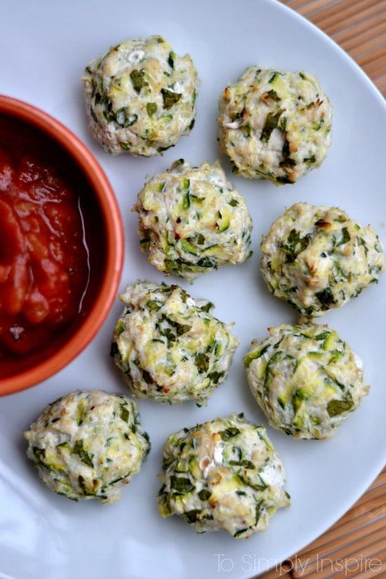 Turkey Zucchini Poppers